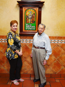 Don Pedro Founders Ruben and Sylvia are still involved in the restaurant