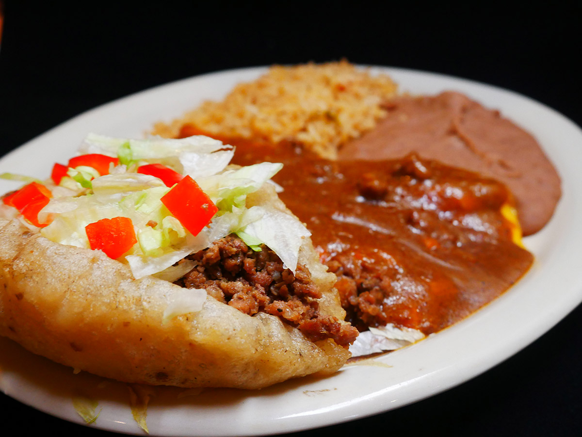 Puffy Tacos in San Antonio at Don Pedro